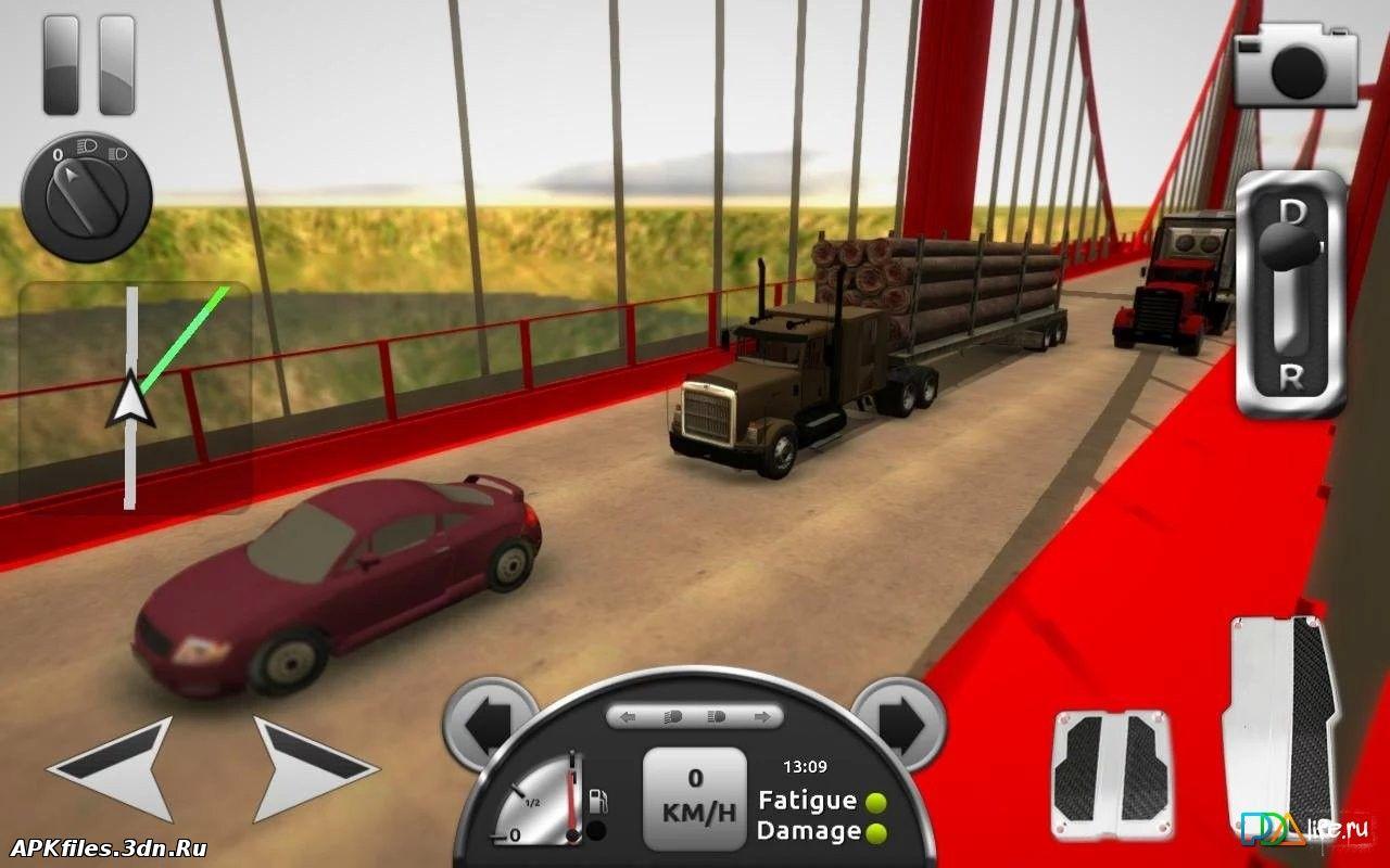 играть в американские грузовик 3д